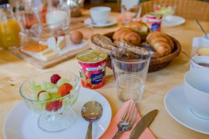 Discover the breakfasts served at the Normandy Inn - Spacious Bed & Breakfasts with warm and friendly hosts